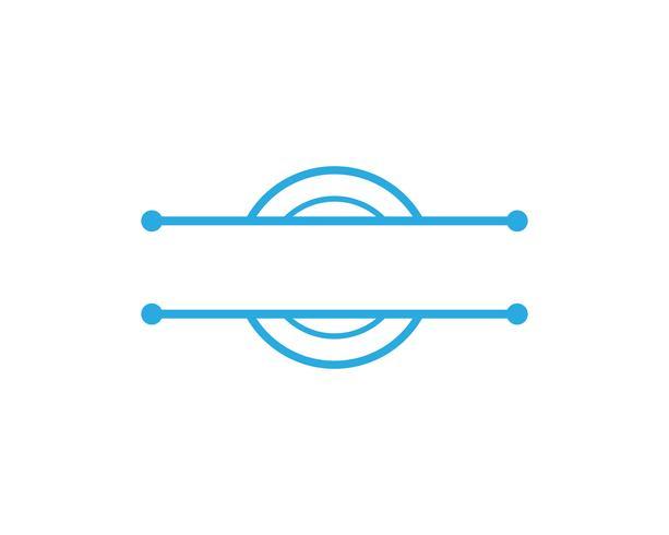 C cirkel logotyp och symboler Vector