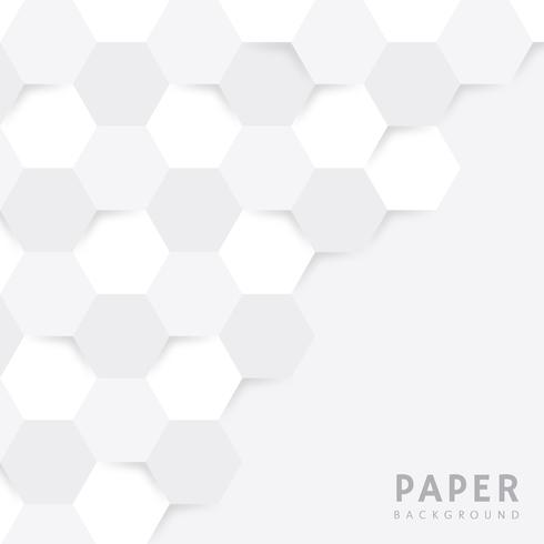 Abstrakter geometrischer Papierhintergrund vektor
