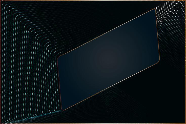 Modernes Design der Partikellinie Zusammenfassungshintergrund mit Kopienraum, Vektorillustration für Ihr Geschäft und Netzfahnendesign. vektor