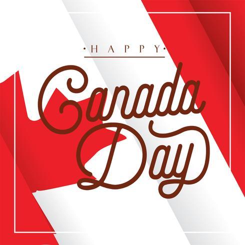 Kanada Day Vector Design
