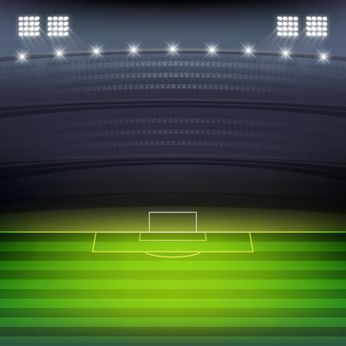 fotbollsstadion bakgrund vektor