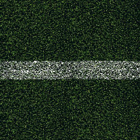 Hintergrund des grünen Fußballgrases vektor