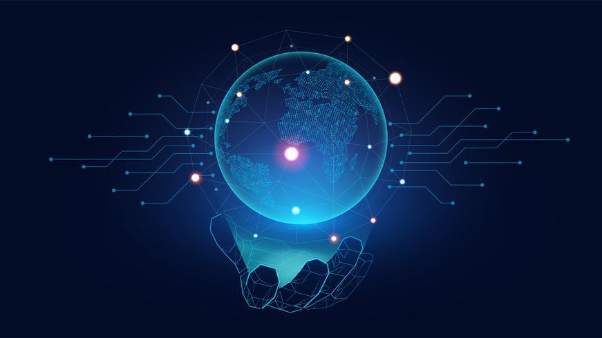 AI koncept vektor