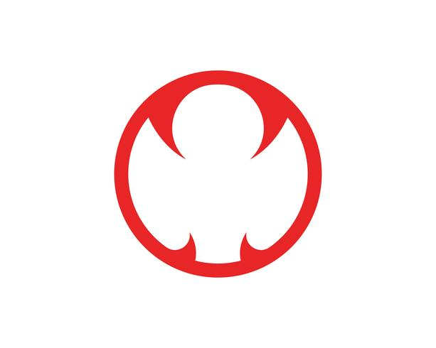 Viper logotyp mall design i en triangel. Vektor illustration.