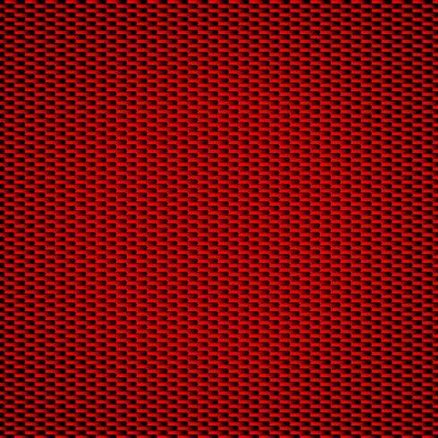 Röd kolfiber bakgrund Seamless Patterns. Vektor illustration