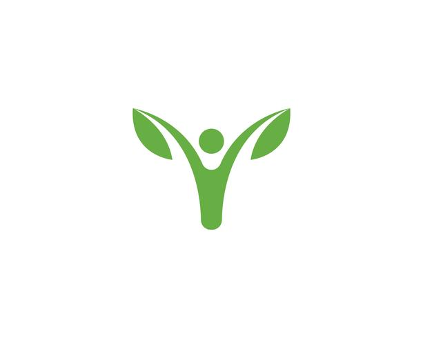 grön blad ekologi naturelement vektor