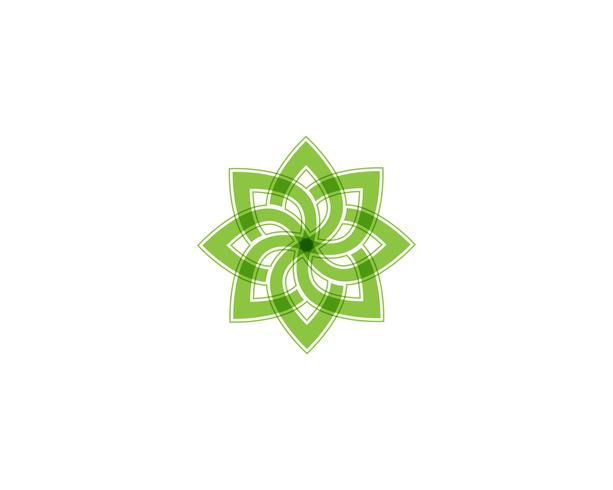 Tree Leaf Green Vector icon Illustration designmall