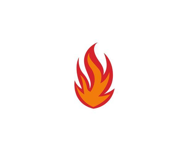 Feuer Logo Vorlage Vektoren