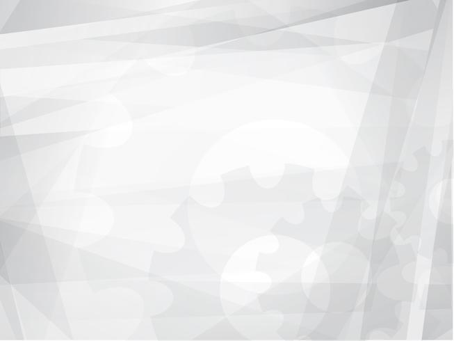 Abstrakt grå geometrisk teknik bakgrund vektor