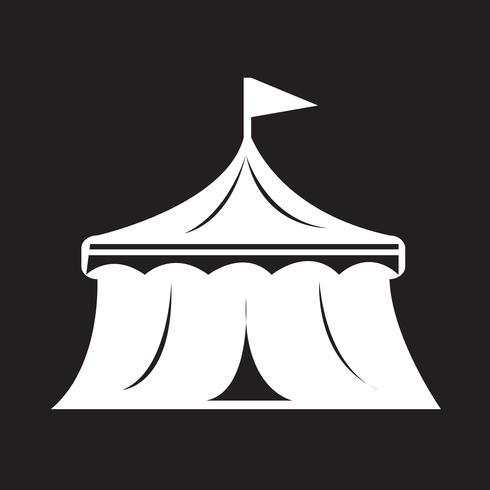 Zirkus Symbol Symbol Zeichen vektor