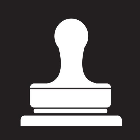 Stempel Symbol Symbol Zeichen vektor