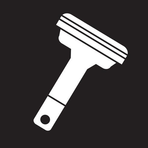 Rasierer Symbol Symbol Zeichen vektor
