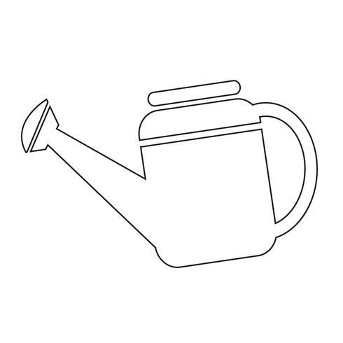 Vattenburk ikon symbol Illustration vektor