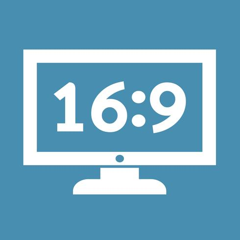 TV ikon design Illustration vektor