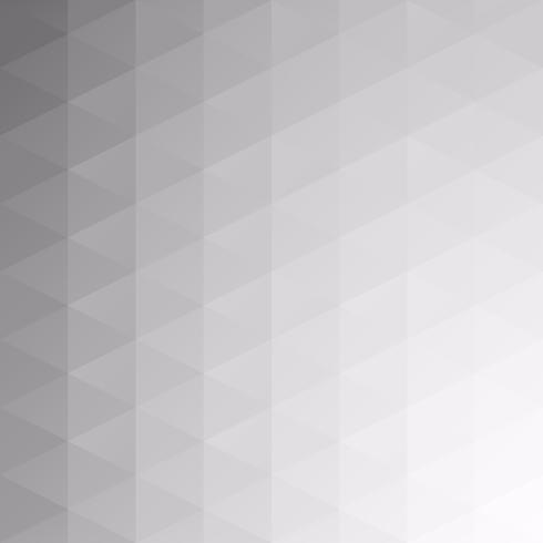 Gray White Grid Mosaic Background, kreative Design-Schablonen vektor