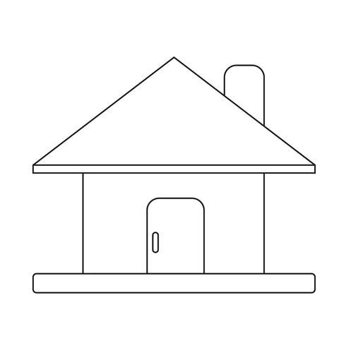 Home-Symbol Symbol Zeichen vektor