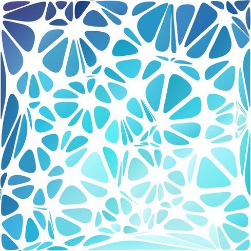 Blauer moderner Stil, kreative Design-Vorlagen vektor