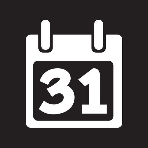 Kalender Ikon symbol tecken vektor