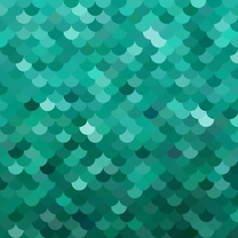 Grönt takplattor mönster, kreativa designmallar vektor