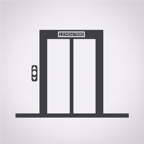 hiss ikon symbol tecken vektor