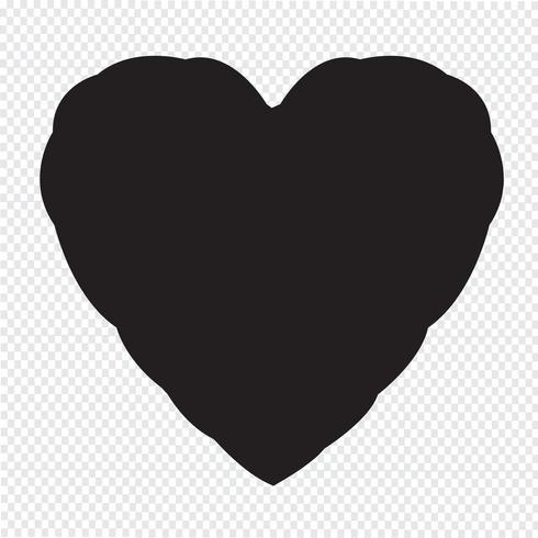 Herz Symbol Symbol Zeichen vektor
