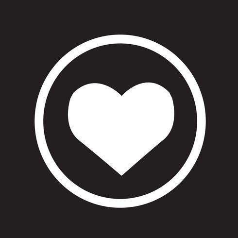 Heart Icon symbol tecken vektor