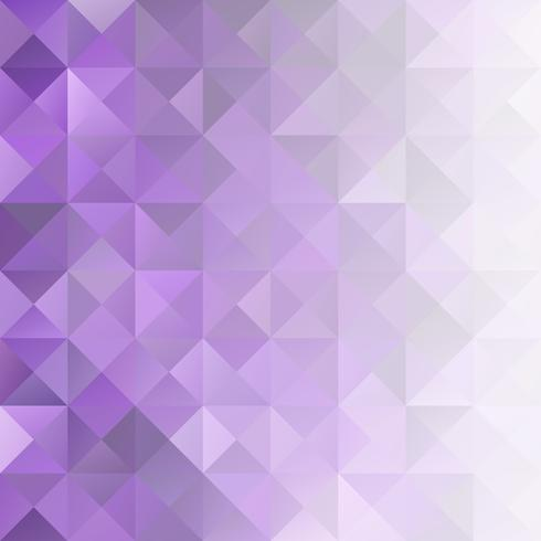 Purpurfärgad mosaikbakgrund, kreativa designmallar vektor