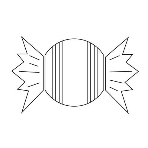 Süßigkeiten Symbol Symbol Zeichen vektor