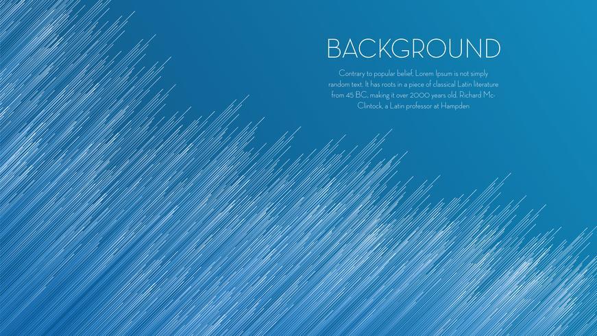 Blå linje abstrakt bakgrund vektor