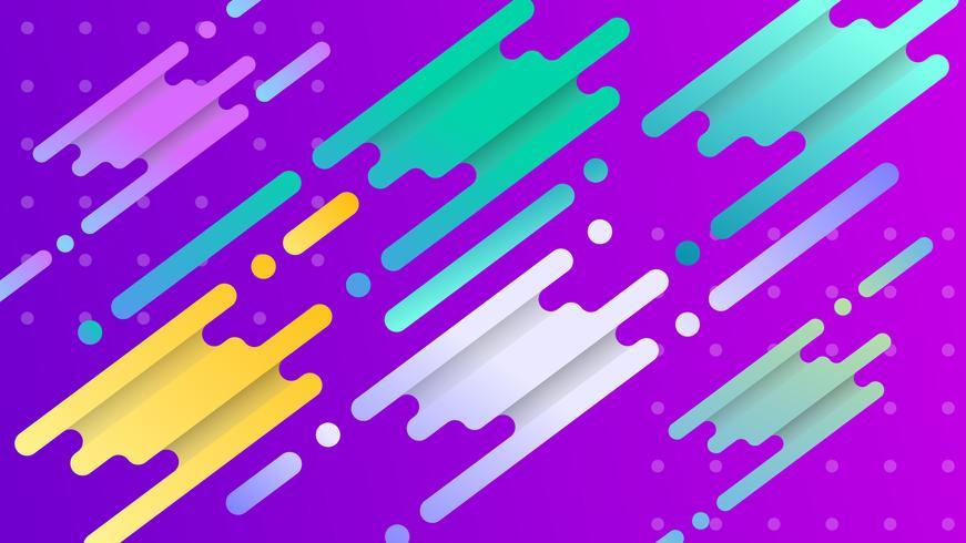 Färgglada gradient abstrakt bakgrund vektor