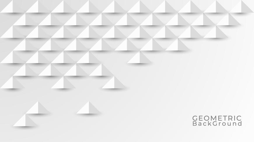 Abstrakt vit och grå bakgrund. Geometrisk konsistens Modern design. Vektor illustration EPS 10.