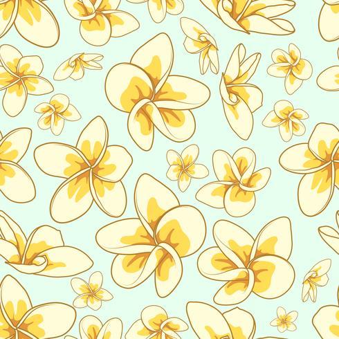 Florales Element nahtlose Hintergrund. vektor