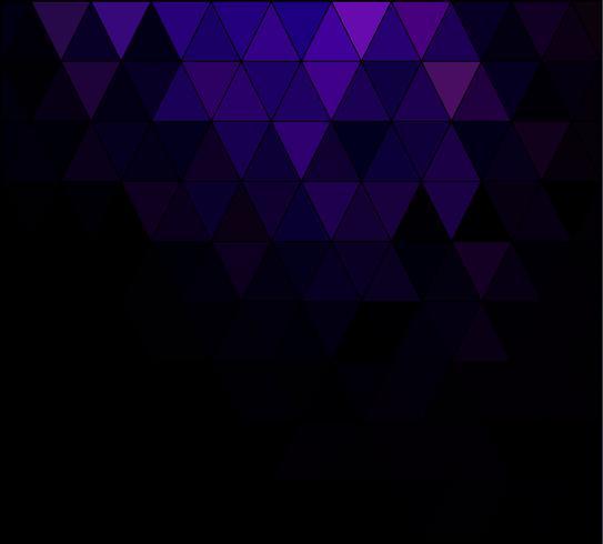 Purpurfärgad rutnätmosaikbakgrund, kreativa mallar för design vektor
