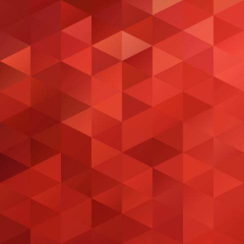 Roter Gitter-Mosaik-Hintergrund, kreative Design-Schablonen vektor