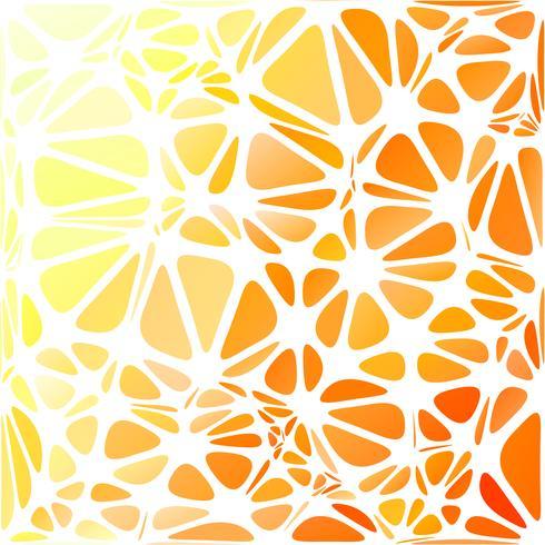Orange modern stil, kreativa designmallar vektor