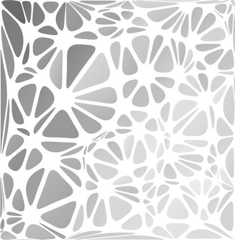 Gråvit modern stil, kreativa designmallar vektor