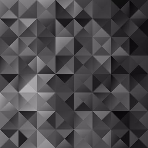 Black Grid Mosaic bakgrund, kreativa design mallar vektor
