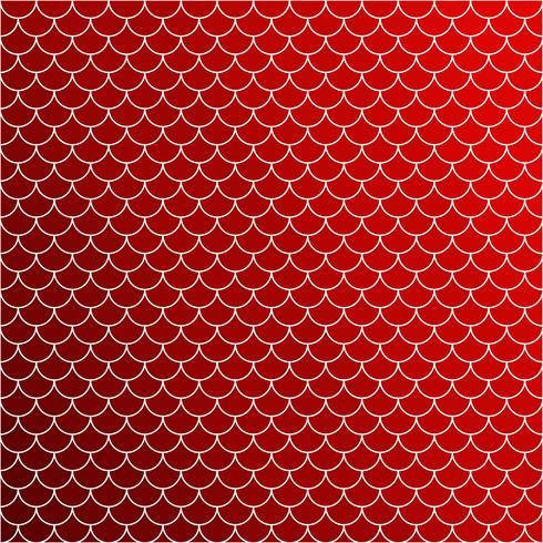 Röd takplattor mönster, kreativa designmallar vektor