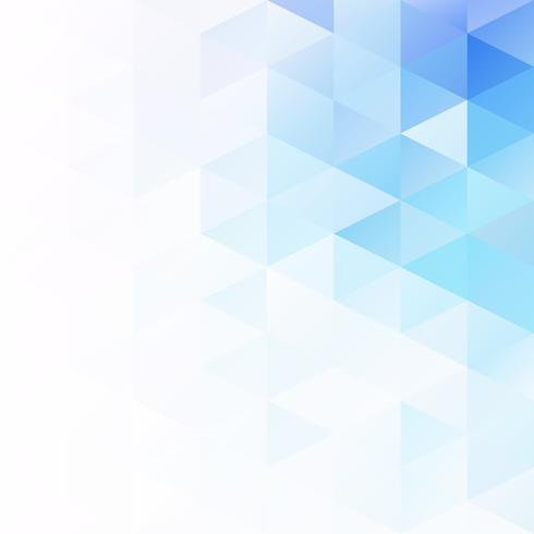 Blue Grid Mosaic bakgrund, kreativa design mallar vektor