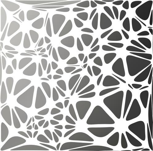 Schwarzer moderner Stil, kreative Design-Vorlagen vektor