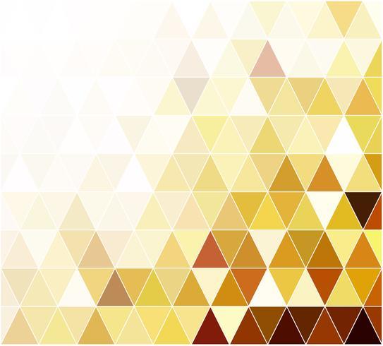 Yellow Grid Mosaic bakgrund, kreativa design mallar vektor