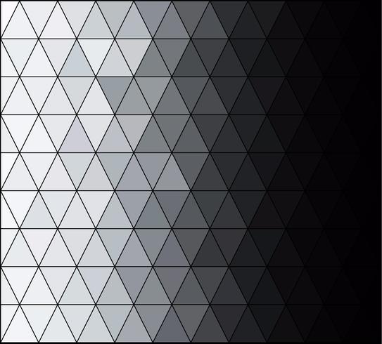 Gray White Square Grid Mosaic, kreative Design-Vorlagen vektor