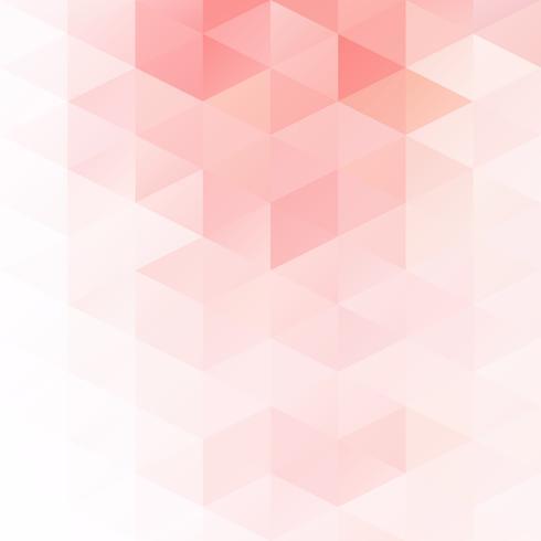 Red Grid Mosaic bakgrund, kreativa design mallar vektor