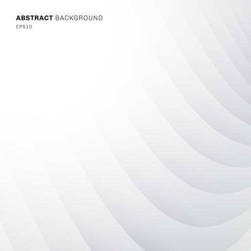 Abstrakt geometrisk kurva diagonal mönster vit och grå färg bakgrund och konsistens. vektor