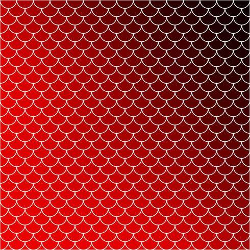 Rotes Dachziegelmuster, kreative Design-Schablonen vektor