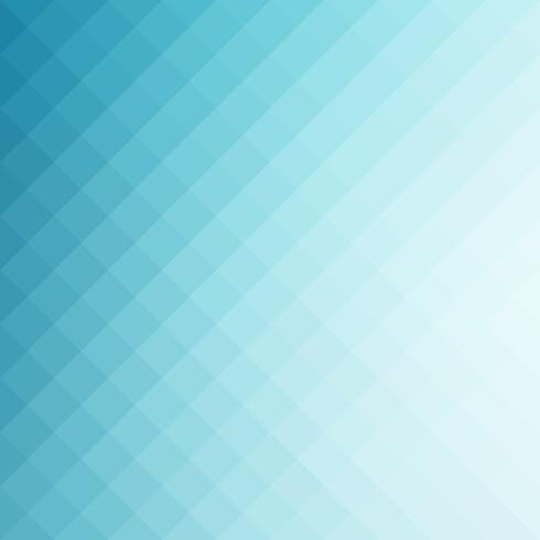 Blauer quadratischer Gitter-Mosaik-Hintergrund, kreative Design-Schablonen vektor