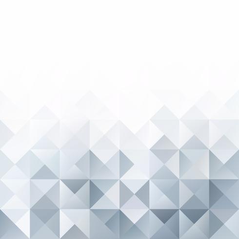 Gray White Grid Mosaic Background, kreative Design-Schablonen vektor