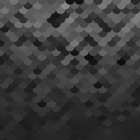 Svart takplattor mönster, kreativa designmallar vektor