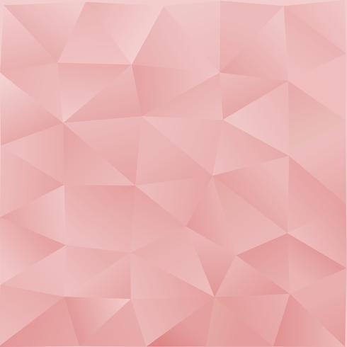 Ljusrosa abstrakt polygonal mall. Ett prov med polygonala former. Mallen kan användas som bakgrund vektor