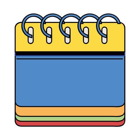 Kalenderinformationen zum Veranstalter Veranstaltungstag vektor